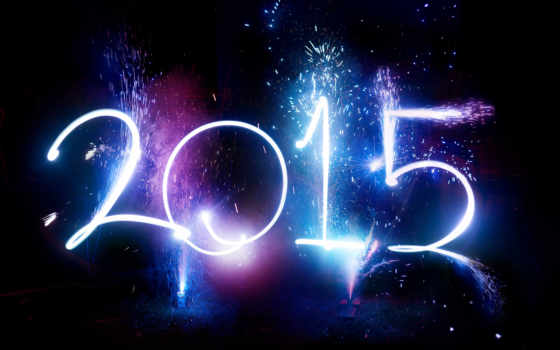 год, new, année,