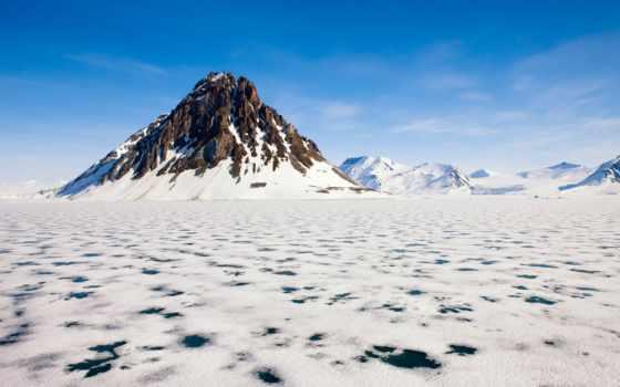 arctic, landscape, desktop, freezing, фон, free,