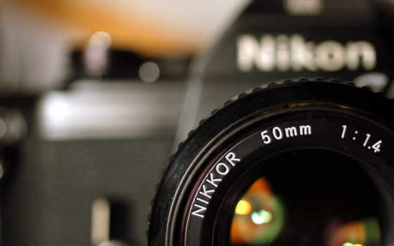 фотоаппарат, nikon, объектив