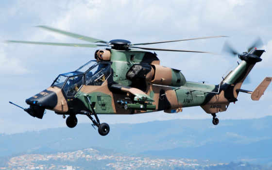 eurocopter, тигр, вертолет