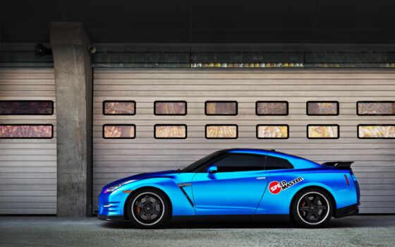 nissan, car, взгляд, side, blue, vista