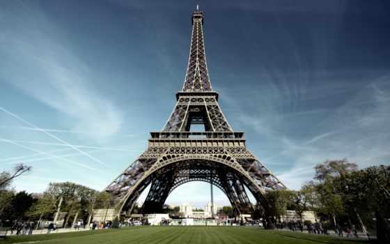eiffel, башня, париж