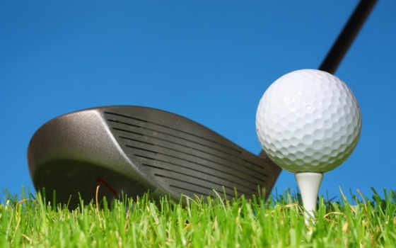 golf, мяч, шарики