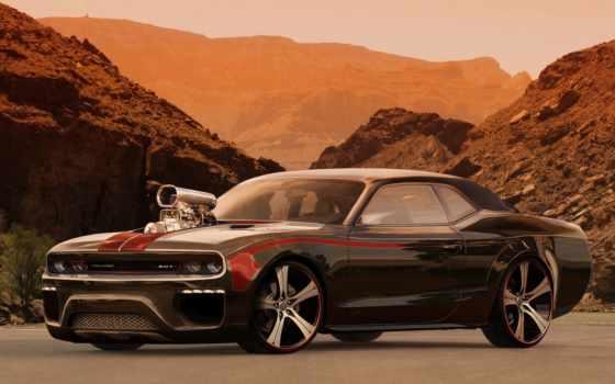 dodge, тюнинг, авто, challenger, усилитель, автомобили,