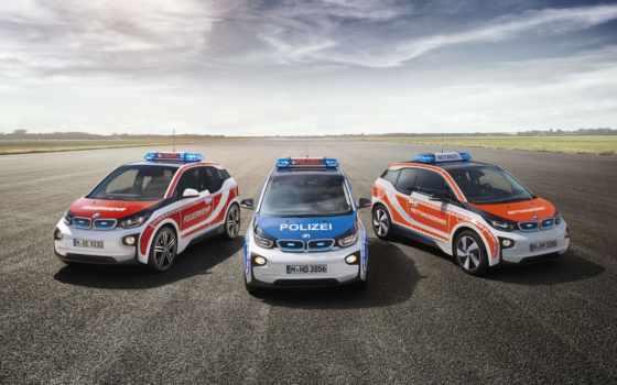 bmw, полицай, coupe, concept, feuerwehr,