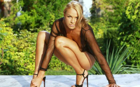 шпильках, torrenty, взгляд, широкоформатные, blonde, девушек, девушка, women, sexy, туфли,