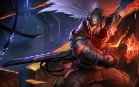 yasuo, league, legends, new, skin, germans, об, гранада,