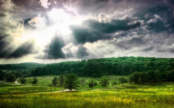 красивый, landscape, природа, summer, россии, collections, солнца, фотошопа, красивые, oblaka, яndex,