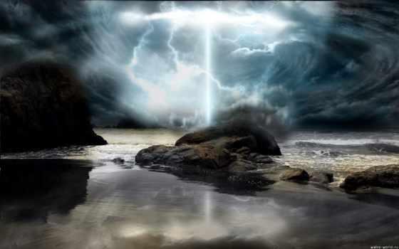 природы, буря, море, фотографий, телефон, hot,