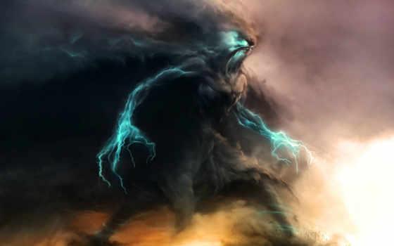 rayos, monstruo