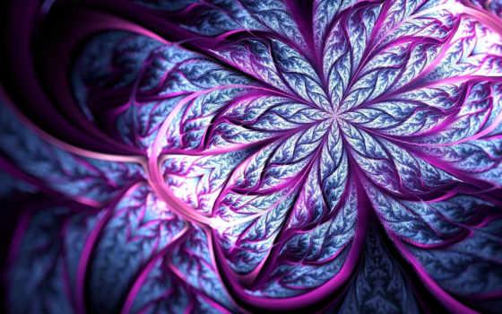 art, lines, flower
