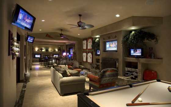 game, комната, bar