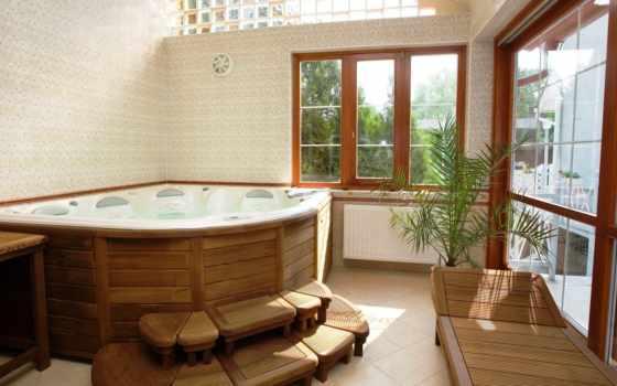 комнаты, design, ванной