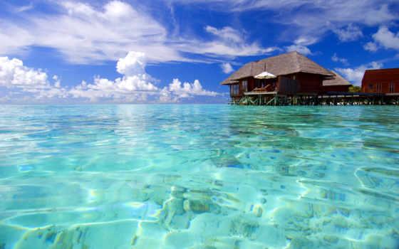ocean, maldives, красавица, relax, exotica, природа, anywalls, февр, отдых, рисунки,