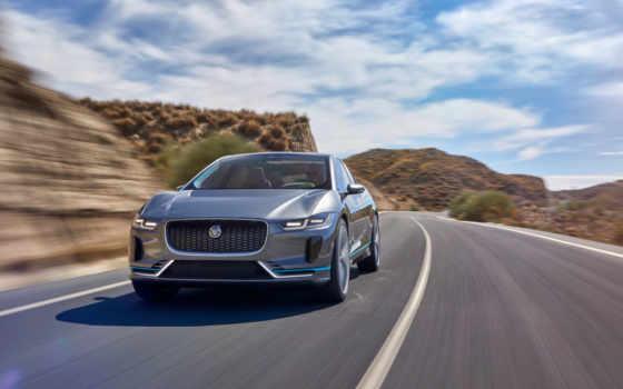 jaguar, pace, concept, electric, внедорожник, нояб,