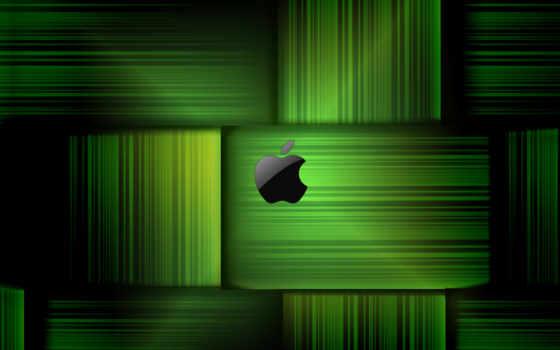 apple, fonds, ecran