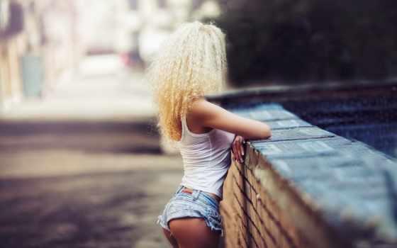 девушка, шортах, джинсовых, трусы, devushki, blonde, karen, imagesbase, abramyan,