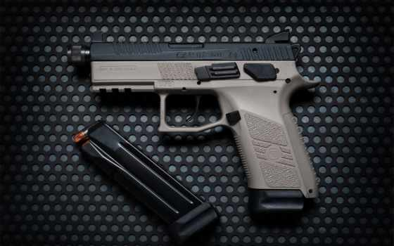 пистолет, оружие, cz, тест, картинка