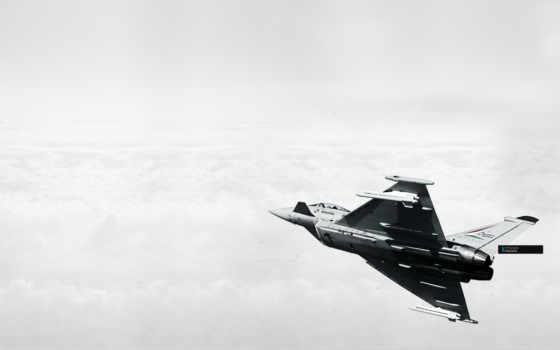 облака, самолёт