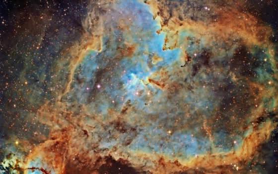 nebula, heart