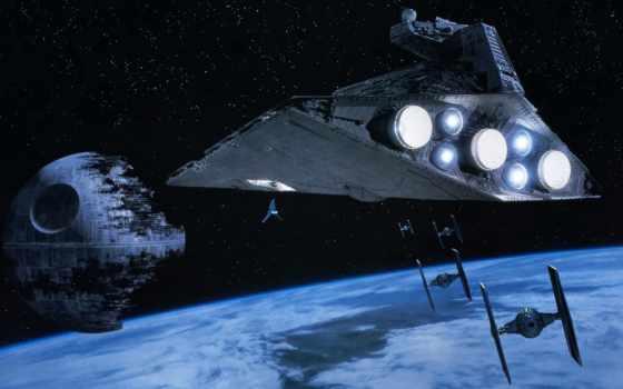 корабль, space, wars