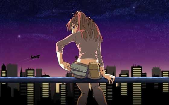 anime, картинка, genesis, evangelion, neon, art, девушка,