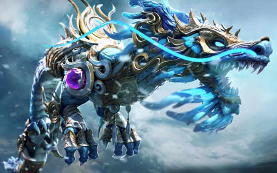 дракон, artstation, mythic, store, полет, creatures, фантастика, пасть, зверь, об, графика,