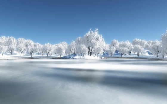 зима, снег Фон № 32107 разрешение 1920x1080