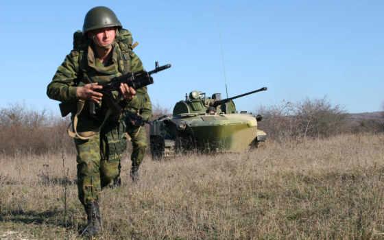 солдаты, штурм, десантно