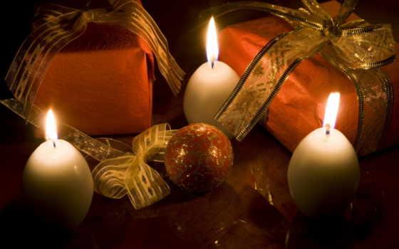 god, новый, zima, свечи, подарки, праздник, игрушки, дек,