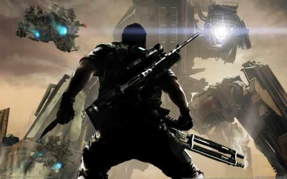 killzone, shadow, акпп, истребитель, игры, guerrilla, киллзон, games, robot, пасть,