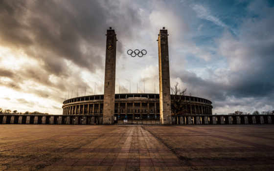 berlin, олимпийский, olympiastadion, стадион, free,
