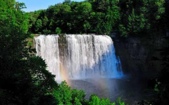 медитация, музыка, водопады, природа,