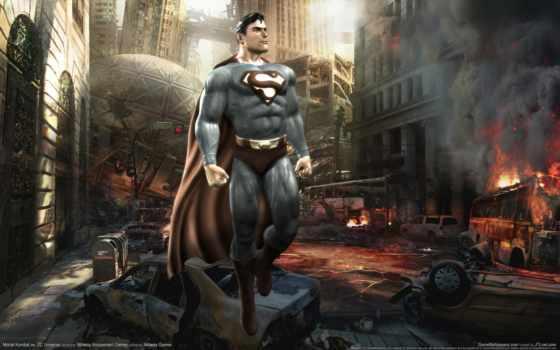 batman, universe, superman, игр, зелёный, lantern, mortal, персонажи,
