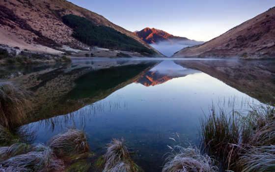 zealand, новая, new, озеро, картинка, горы, queenstown,