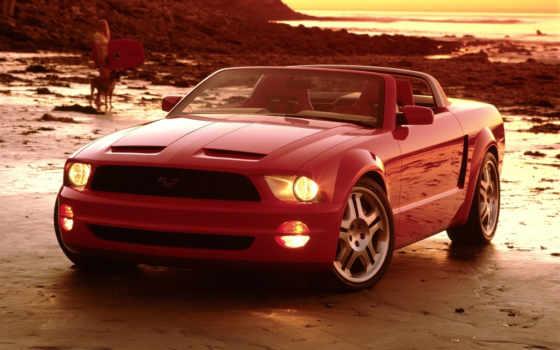 red, ford, кабриолет, товара, thunderbird, cabriolet, большой, range,