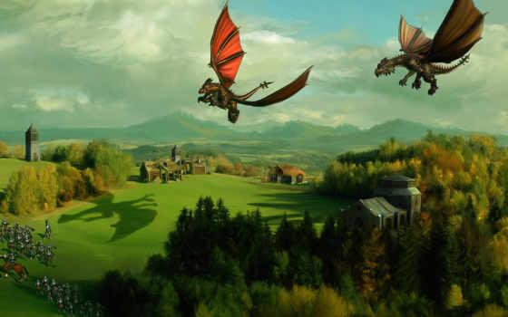game, страница, игры, дракон, dota, два, dragons, spellforce,