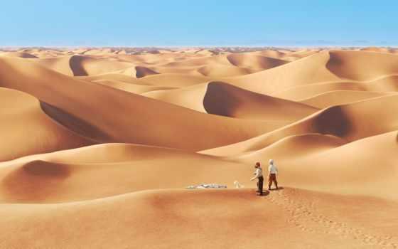 пустыня, lost, люди