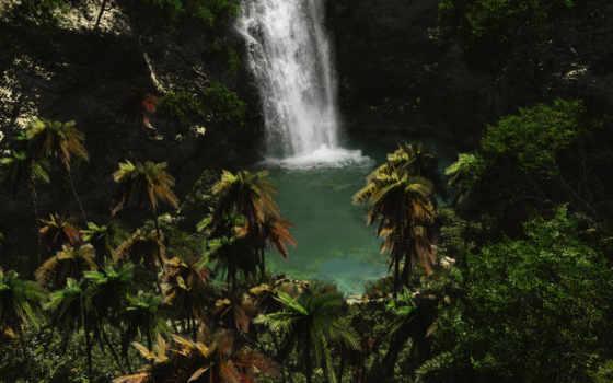 природа, водопад, best Фон № 135126 разрешение 1920x1080