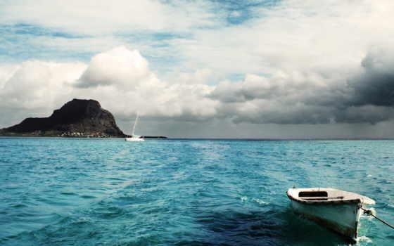 рай, природа, море, облако, изображения, корабли, раздаче, дек, природные, тысяч, пазлов,