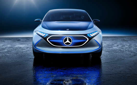 mercedes, eq, benz, concept, eqa, electric, new, свое,
