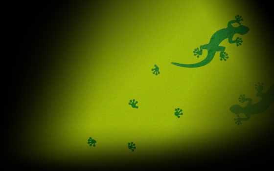 векторные, зеленые, следы