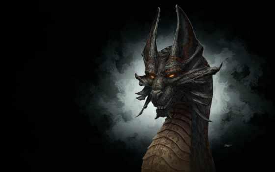драконы, фэнтези, дракон