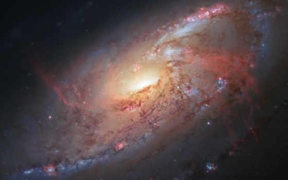 galaxy, messier, spiral, hubble, космос, изображение,