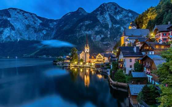 австрия, hallstatt, плохой, obertraun, apartmenthaus, simmer, world, goisern, hotel,