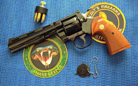 revolver, картинка, colt,
