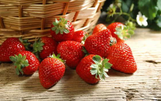 клубника, strawberries, fresh, ягодки, fotos, und,