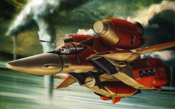 anime, истребитель, macross Фон № 91661 разрешение 1920x1200