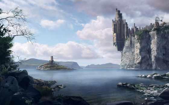 fantasy, mundos, espectaculares, imaginarios, imágenes, futuristas, фантастика, картинкой, тематика, tenebrosos,