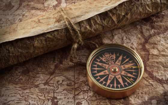 compass, map, красивые, только, daily, заставки, бумага, ретро, images, июл,